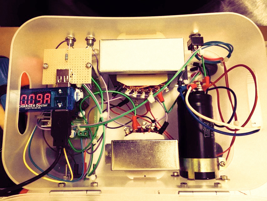 NFJ D802とRaspberry Pi用アナログ電源の制作